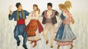 Folk dances for beginners in Lyulin from September